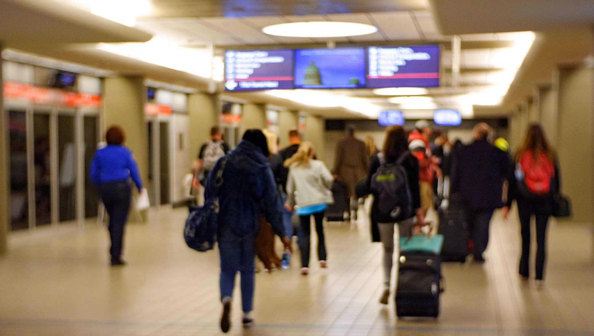 PASSENGER TRAFFIC UP 14.8 PERCENT IN MARCH AT PITTSBURGH INTERNATIONAL AIRPORT