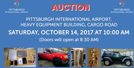 AIRPORT AUTHORITY TO CONDUCT PUBLIC AUCTION OCT. 14