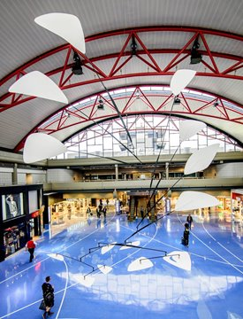 AIRPORT ART TOUR FEATURING CALDER MOBILE SCHEDULED JAN. 27