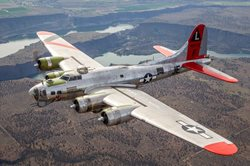 WWII B-17 BOMBER TAKES FLIGHT OVER PITTSBURGH