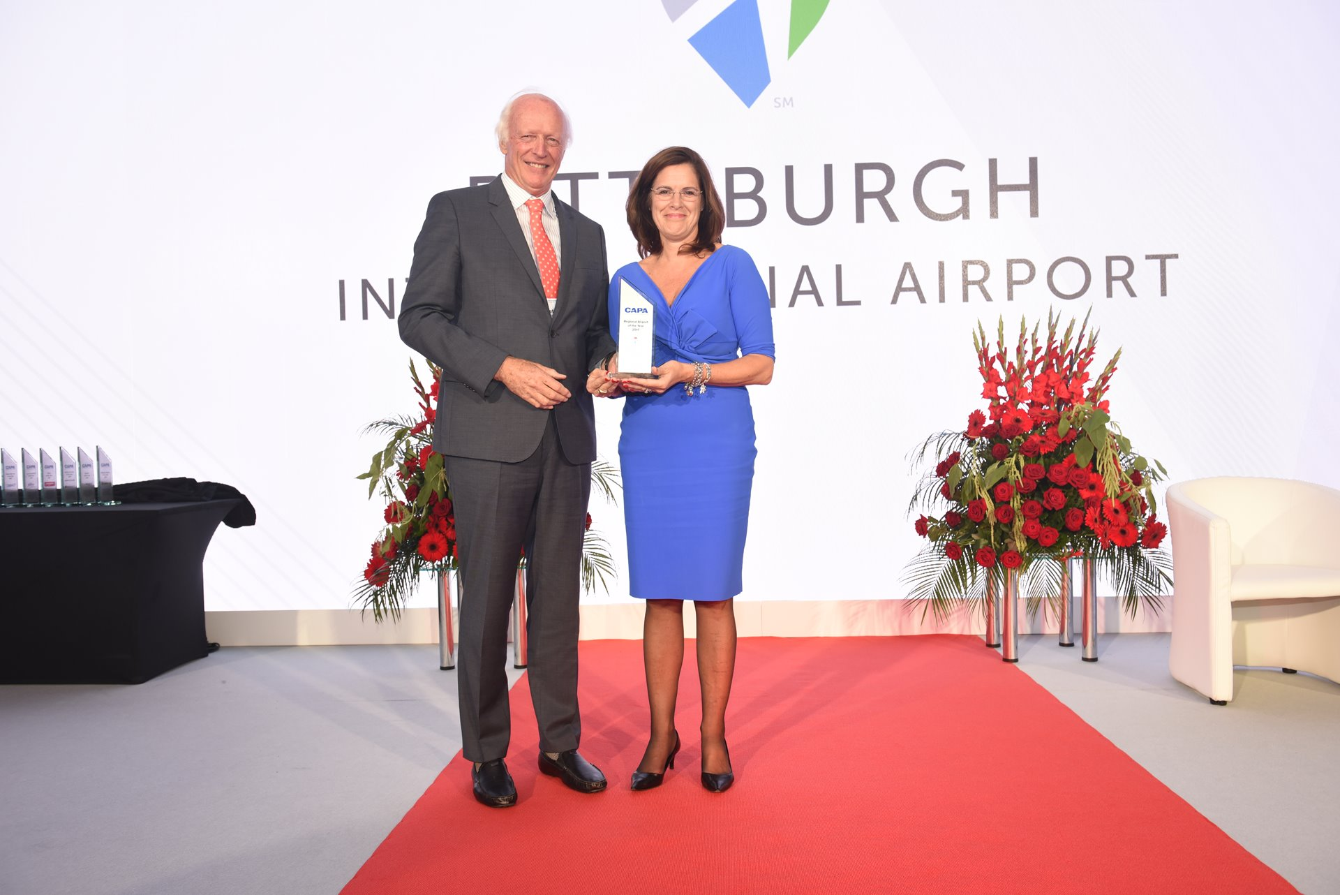 PITTSBURGH INTERNATIONAL NAMED 2017 CAPA REGIONAL AIRPORT OF THE YEAR