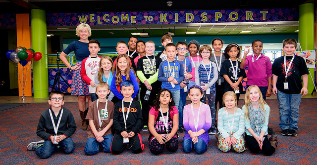 GRAND OPENING HELD FOR RENOVATED KIDSPORT