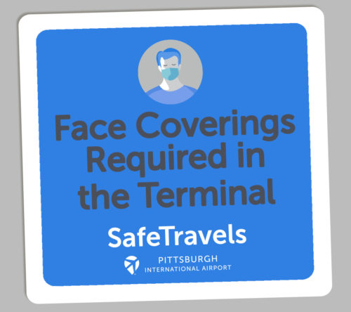 "Airport Authority Launches ""PIT Safe Travels"" Program, Expanding Health and Safety Measures for Passengers and Staff"
