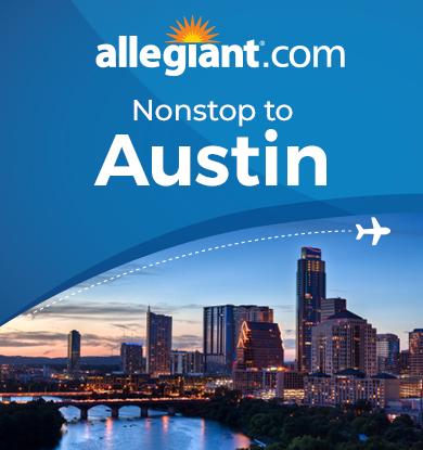 Travel To Austin on Allegiant Air