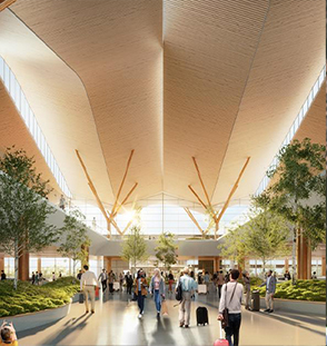 A transformed airport   FOR HEALTH, SAFETY AND THE FUTURE OF TRAVEL