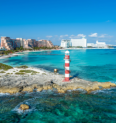 Travel to Cancun on  Spirit Airlines