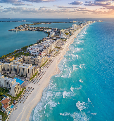 Travel to Cancun on  Southwest Airlines