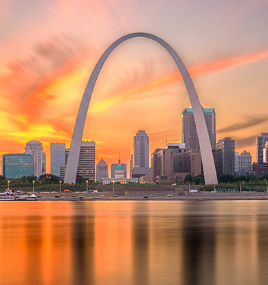 Travel to St. Louis on Southwest Airlines